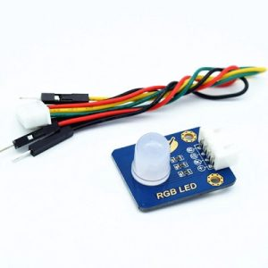RGB LED module with wires